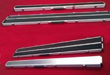 "ROSETTA 48"" ALUMINIUM CHROME SNOOKER BILLIARD POOL CUE CASE FOR 3/4 JOINTED CUES"
